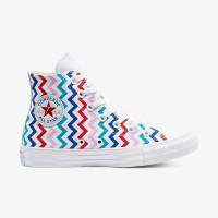 Кеды Converse CTAS HI WHITE/UNIVERSITY RED 567046C