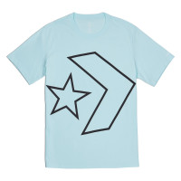Футболка Converse Tilted Star Chevron Tee 10008448-473