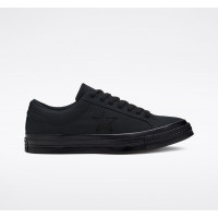 Кросівки Converse One Star Ox Black 163380C