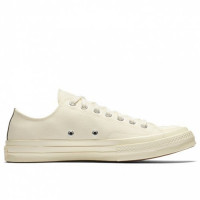 Кеди Converse x Comme Des Garcons PLAY Chuck 70 White Low 150207C