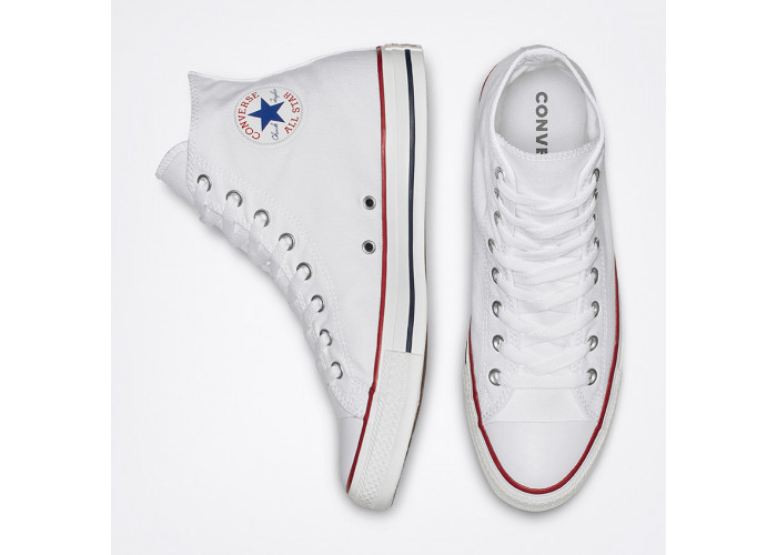 Кеди Converse Chuck Taylor All Star Hi Optical White M7650C білі