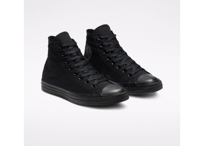 Кеди Converse Chuck Taylor All Star Hi Black Monochrome M3310C чорні